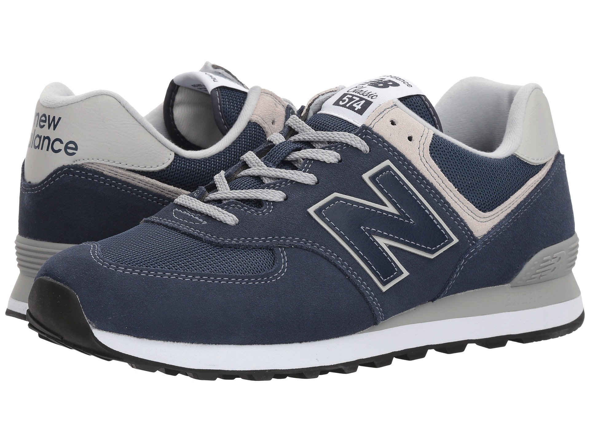 Discount 180642 New Balance Classics Ml515 Men Grey Blue Red Shoes