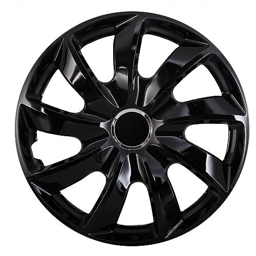 "NRM Universal Wheel Trims STIG Black 16"", set 4 pieces"