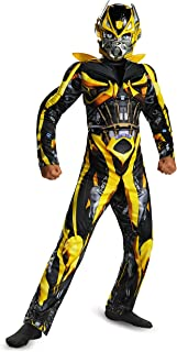 Hasbro Disguise Transformers Age of Extinction Movie Bumblebee Classic Muscle Boys Costume, Small/4-6