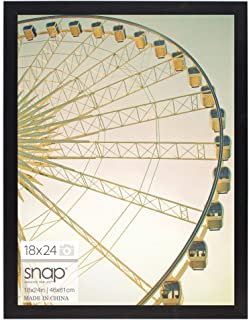 Snap 18 by 24 Inch Black Photo Picture Frame, 18x24,