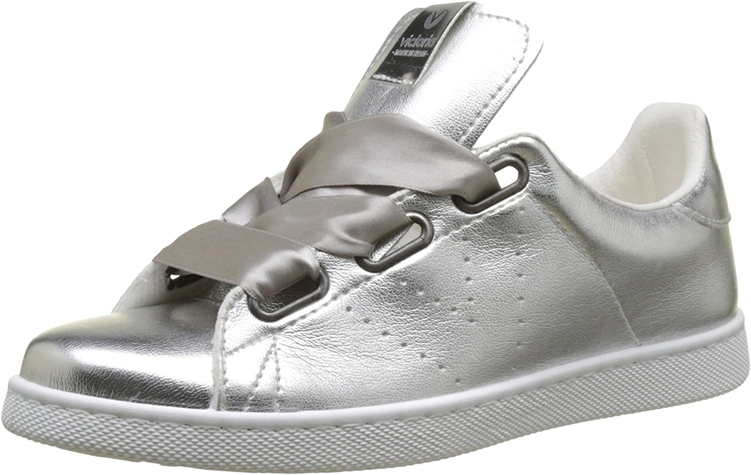 Victoria shoes Woman Low Sneakers 125165 Silver