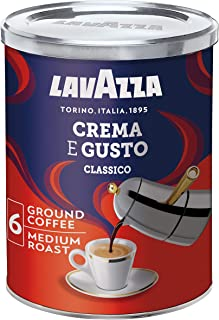 Lavazza Crema e Gusto Ground Coffee Powder in Tin, 250g
