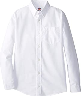 dickies long sleeve oxford shirt