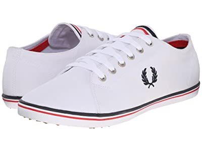 Fred Perry Kingston Twill (Navy/White/Bright Red) Men