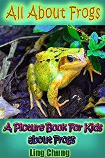 Children's Book About Frogs: A Kids Picture Book About Frogs with Photos and Fun Facts