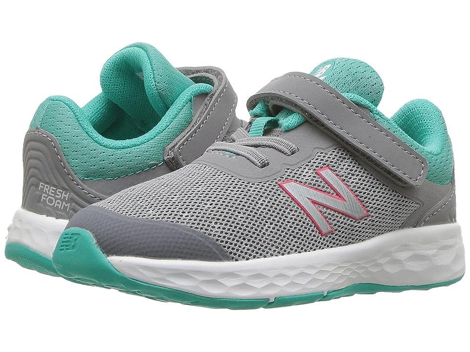 New Balance Kids KVKAYv1I (Infant/Toddler) (Steel/Tidepool) Girls Shoes