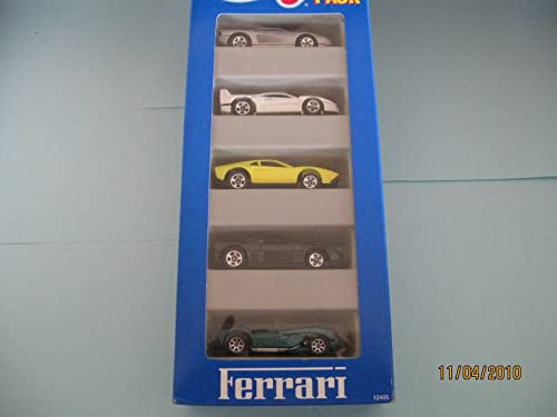 Hot Wheels Ferrari Gift Pack (1995) 12405 Styles and colours may vary