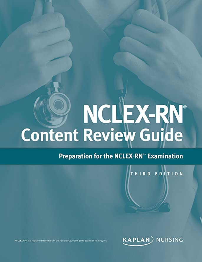 個人的な紛争見落とすNCLEX-RN Content Review Guide: Preparation for the NCLEX-RN Examination (Kaplan Test Prep) (English Edition)