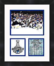 St Louis Blues Stanley Cup Champions 2019 Framed 11 x 14 Matted Collage Framed Photos Ready to Hang