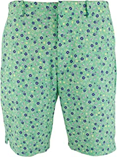 Polo Ralph Lauren Polo Golf Links Men Floral Printed Stretch Shorts, Green