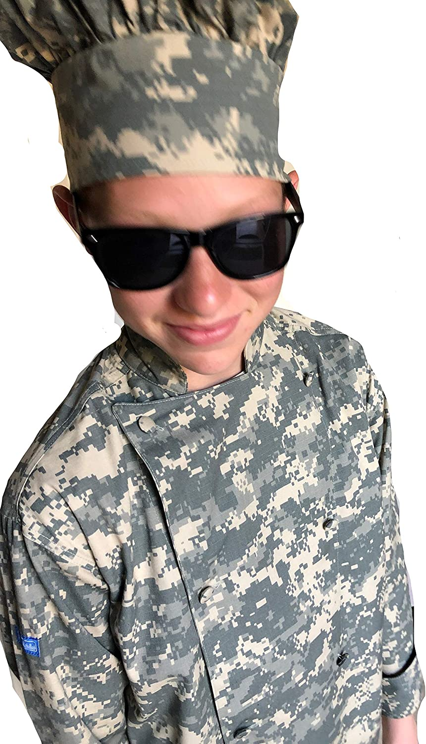 CHEFSKIN Children Chef Selling and Deluxe selling CAMO ACU Digital Kids w Camouflage Jacket