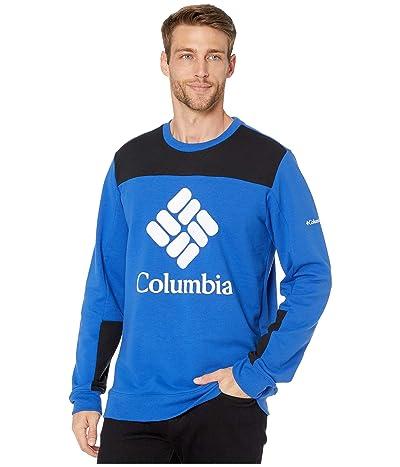 Columbia Columbia Lodgetm Color Block Crew (Azul/Black/White) Men