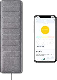 Withings Sleep Analyzer - Clinically Validated Under-Mattress Sleep Tracker with Sleep Apnea Detection and Sleep Cycle Ana...