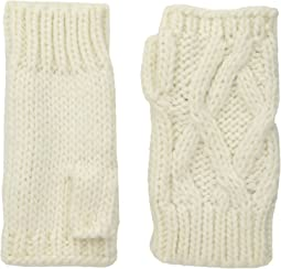 KNG3495 Cable Knit Fingerless Gloves