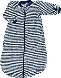 Lilano Schlafstrampler Schlafsack Mit Arm, 100% Wollfrottee Flausch kbT