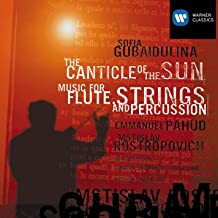 Gubaidulina: The Canticle Of The Sun, Music For Flute Strings And Percussion
