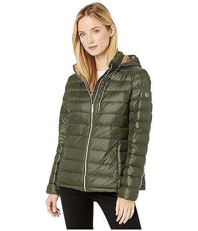 MICHAEL Michael Kors Short Packable with Zipper Pocket M824387TZ (Ivy) Women