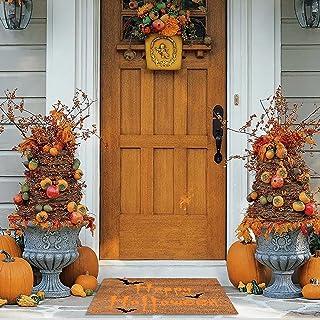 2021 Halloween Decorations Halloween Doormat Blanket Happy Halloween Home Door Mat Front Door Mat Decorations Halloween De...