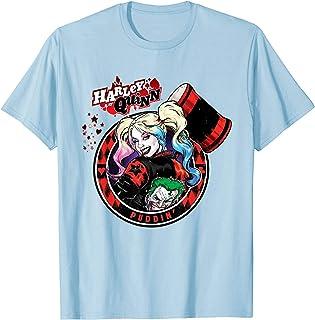 Batman Harley Quinn Joker Patch T-Shirt