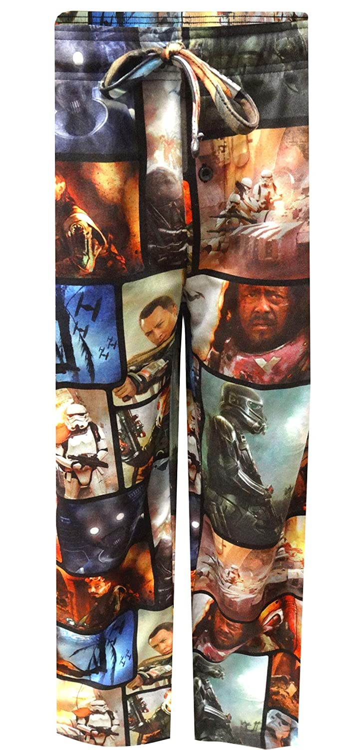 Star Wars Rogue One Rogue Action Lounge Pants for men (Small)