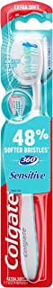 Colgate 360 Enamel Health Extra Soft Toothbrush for Sensitive Teeth (1 Pack)