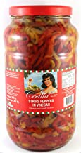 Cecilia Peppers Strips with Vinegar, 2.9 kg