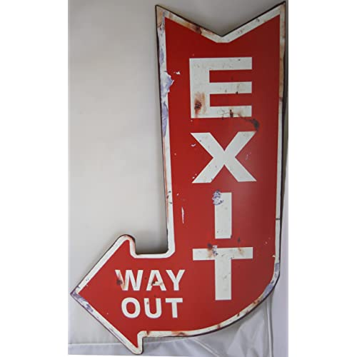 Vintage Signs For Sale >> Vintage Metal Signs Amazon Com
