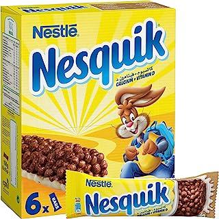 Nesquik Nestle Chocolate Breakfast Cereal 25g (6 Bars)
