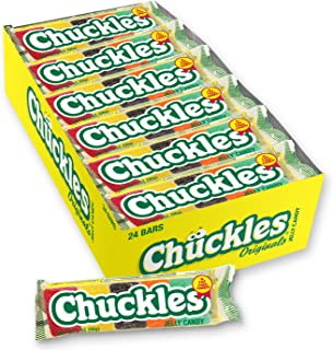 Chuckles Original Jelly Candy, 2 Ounces (Pack of 24)
