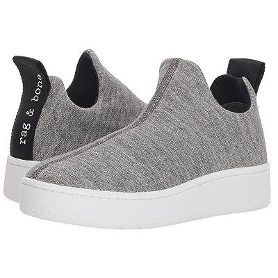 rag & bone Orion Knit Sneaker (Grey Melange) Women