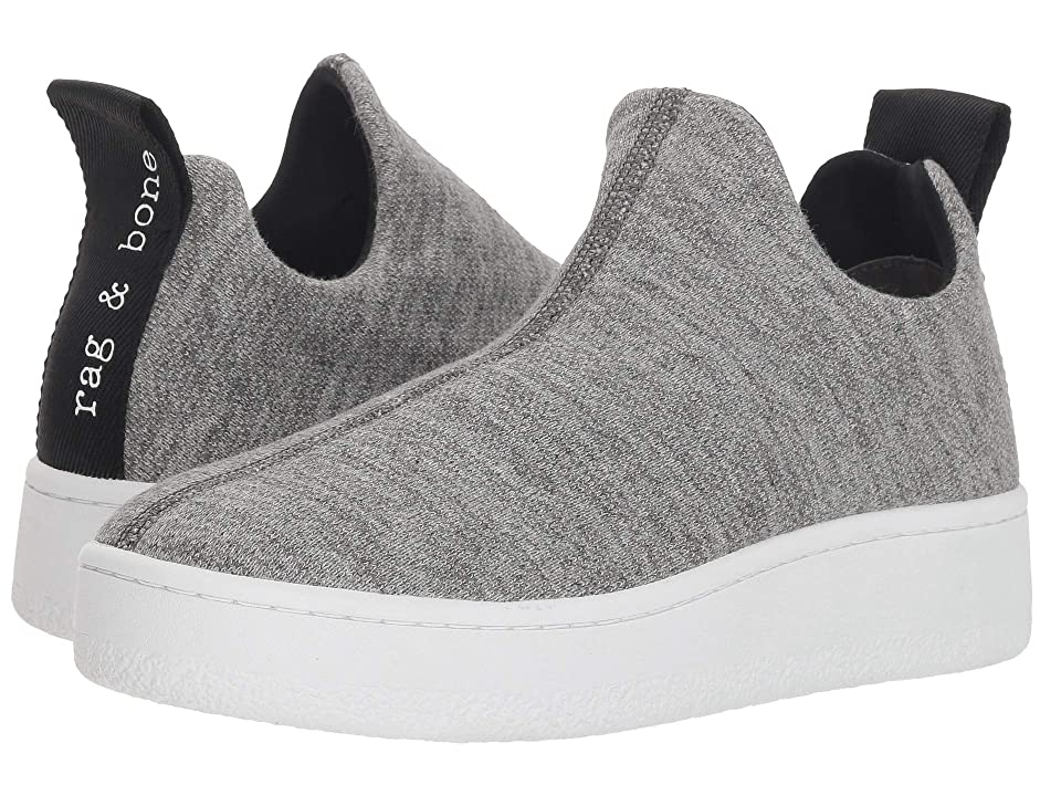 rag & bone Orion Knit Sneaker (Grey Melange) Women