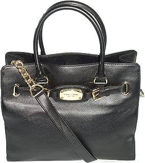Michael Kors Hamilton Large Ns Tote Bag in Black Leather