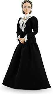 ​Barbie Inspiring Women Series Susan B, Anthony Collectible Doll, Approx, 12-in, Wearing Black Dress and Cameo Brooch, wit...