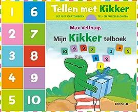 Tellen met Kikker: Set met kartonboek + tel- en puzzelblokken