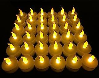 Flameless LED Tea Light Candles, 36 PK Vivii...