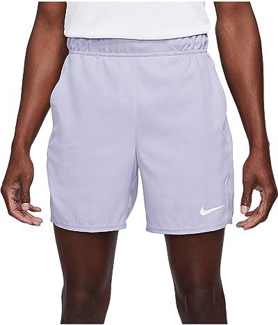 Nike Nike Court Flex Victory Shorts 7 (Indigo Haze/White) Men