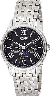 Casio Mens Quartz Watch, Analog-Digital Display and Stainless Steel Strap