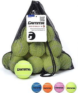 Gamma Bag of Pressureless Tennis Balls - Sturdy & Reuseable Mesh Bag with Drawstring for Easy Transport - Bag-O-Balls