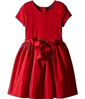 Polo Ralph Lauren Kids - Fit-and-Flare Dress & Bloomer (Little Kids)