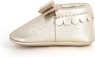 7364603e03b Freshly Picked Bow Mocc Soft Sole Baby Moccasins