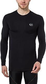 Ultrasport Maglia a compressione lunga da uomo, maglia funzionale Ben, traspirante - utilizzabile come maglietta da ciclis...