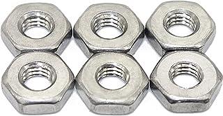 Pack of 4 Regular 50 pk, #4-40 Stainless Steel Plain Finish Square Nut
