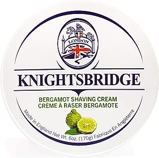 Knightsbridge - Bergamot Shaving Cream 170g