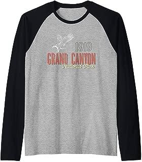 Grand Canyon National Park Centennial Outdoor Eagle Raglan Baseball Tee