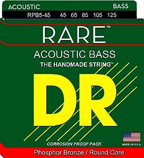 DR Strings Rare- Phosphor Bronze Acoustic5 String Bass 45-125