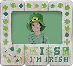 Neil Enterprises, Inc Kiss me I'm Irish St. Patrick's Day Picture Frame