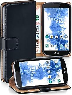 990ce353de5 MoEx Bolso OneFlow para Funda LG K7 Cubierta con Tarjetero | Estuche Flip  Case Funda móvil