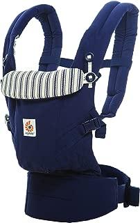 Ergobaby - Mochila Portabebes Ergonomico para Recien Nacido,  3-Posiciones, Azul marino