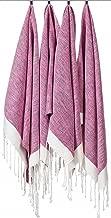 [SET OF 4] Unique Turkish Cotton Peshtemals & Towels - Size (20