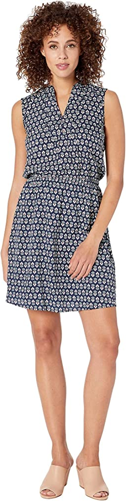 Geo Floral Dress